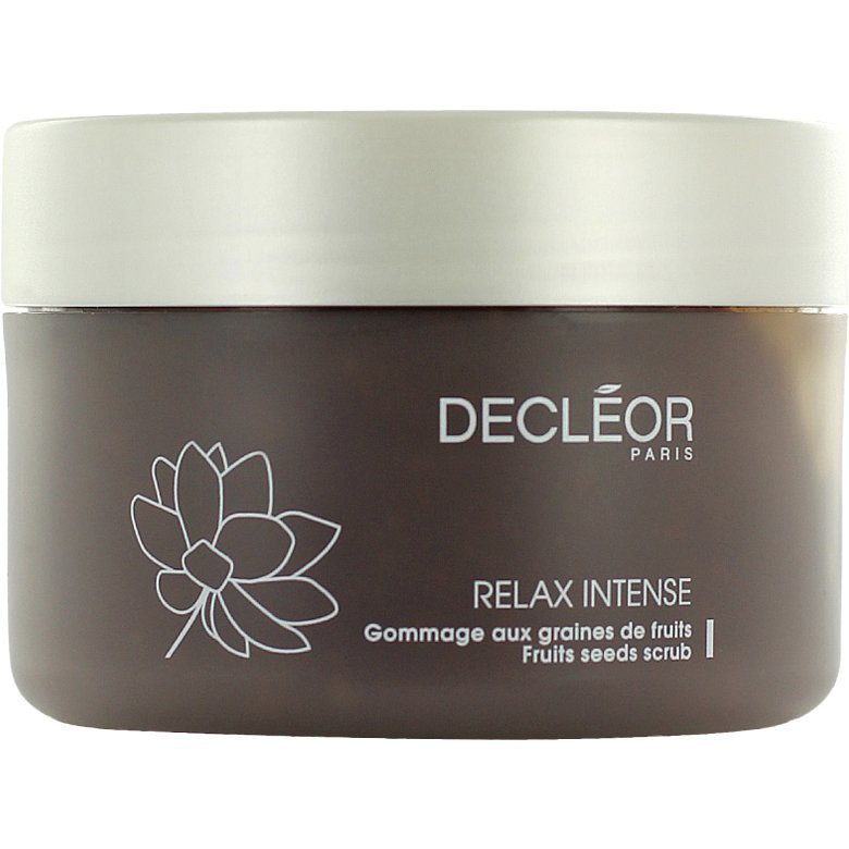 Decléor Relax Intense Fruit Seeds Scrub 200ml