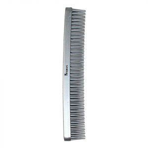 Denman Tame & Tease Styling Comb Silver 175mm