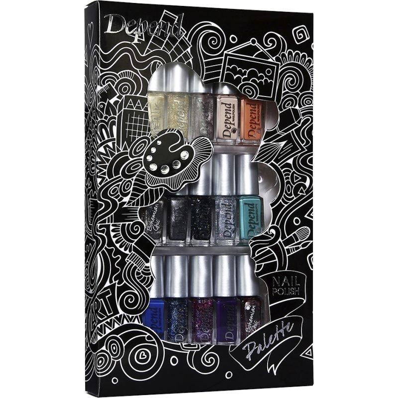 Depend 15 Nail Polish Gift Set Mixed Colors