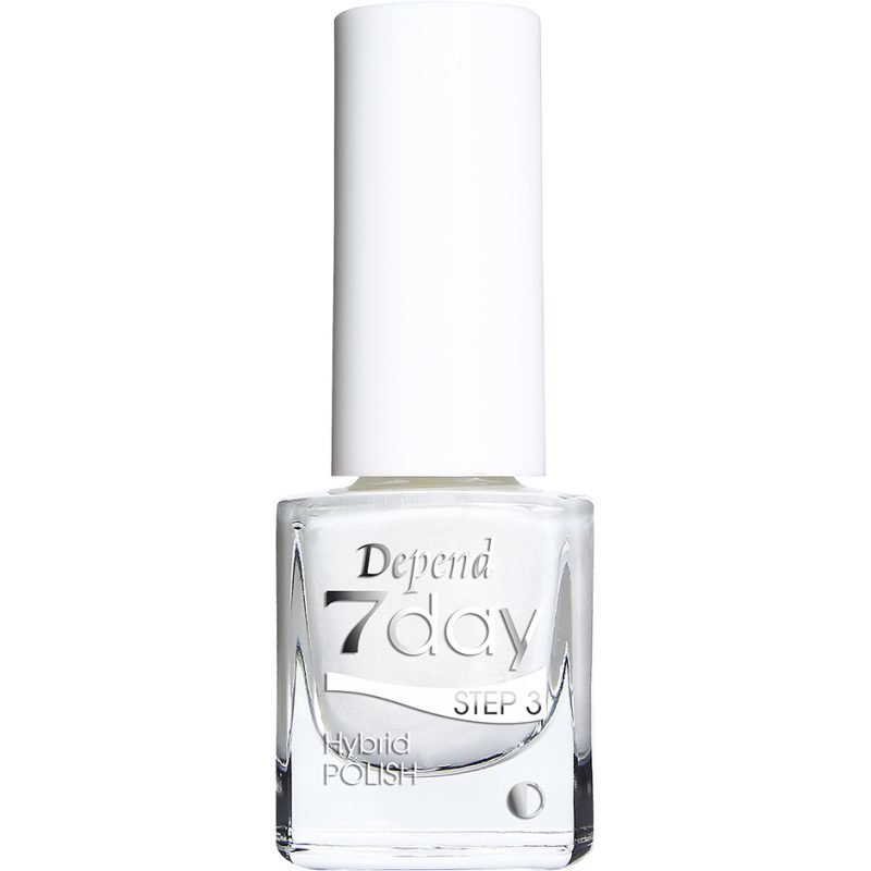 Depend 7 Day Hybrid Polish 7004 White Pearls 5ml