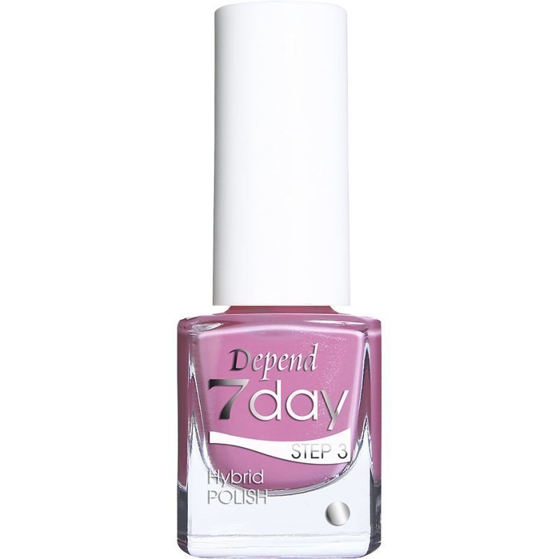 Depend 7 Day Hybrid Polish 7047 Pink Mania 5ml