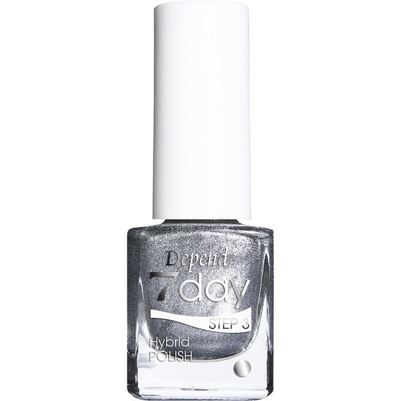 Depend 7 Day Hybrid Polish 7057 I Stole The Silver 5ml