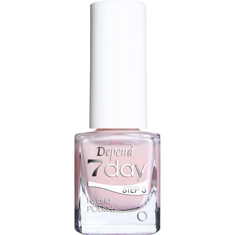 Depend 7 Day Hybrid Polish 7058 French Kisses 5ml