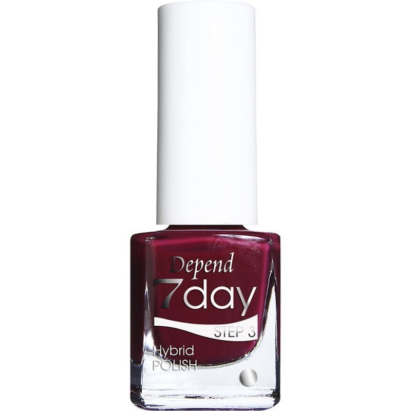 Depend 7 Day Hybrid Polish 7062 Verry Berry 5ml