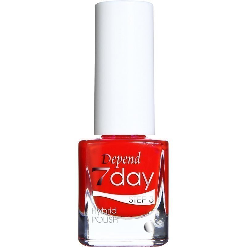 Depend 7 Day Hybrid Polish 7078 Lady Bug Love 5ml