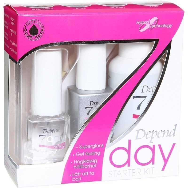 Depend 7 Day Starter Kit 6 Pieces