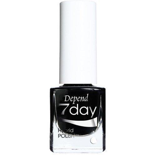 Depend 7Day Hybrid Polish Goth Black