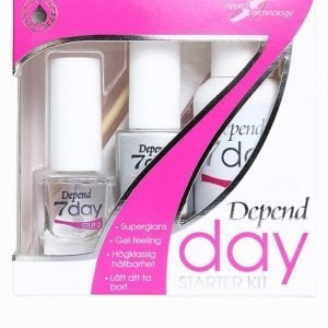 Depend 7day Starter Kit Kynsilakka