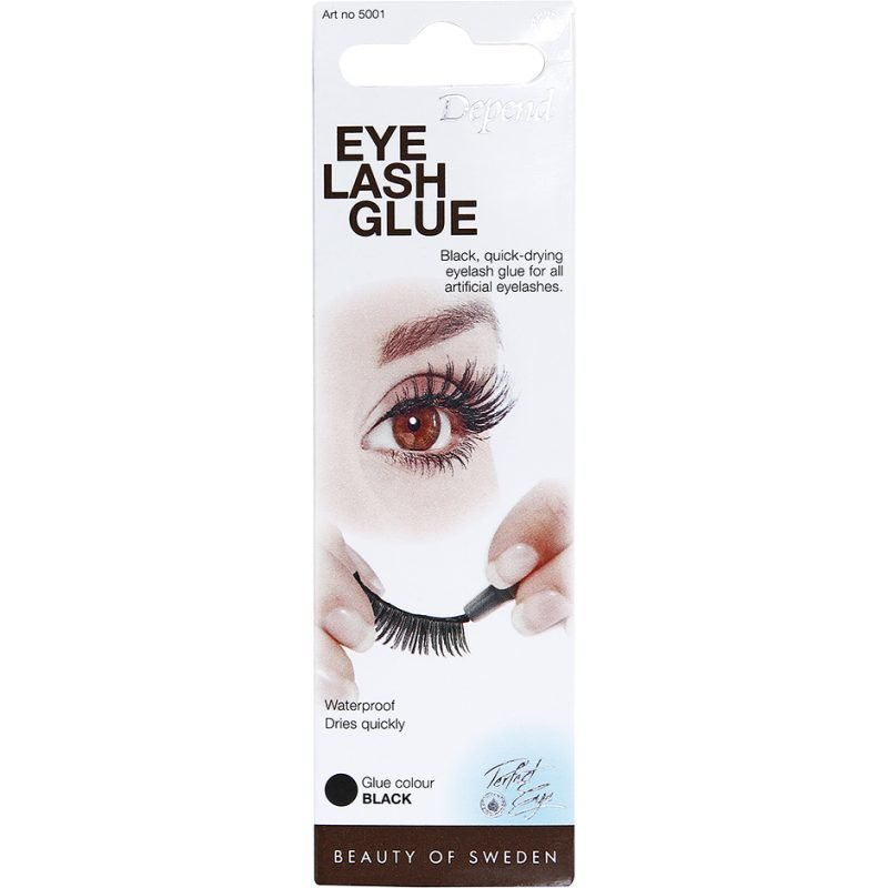 Depend Adhesive For Artificial Eyelashes Black