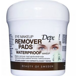 Depend Eye Makeup Remover Pads For Waterproof Makeup Puhdistuslaput
