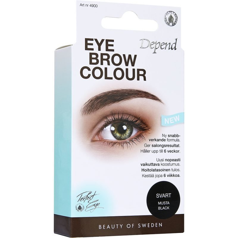 Depend EyeBrow Colour Black