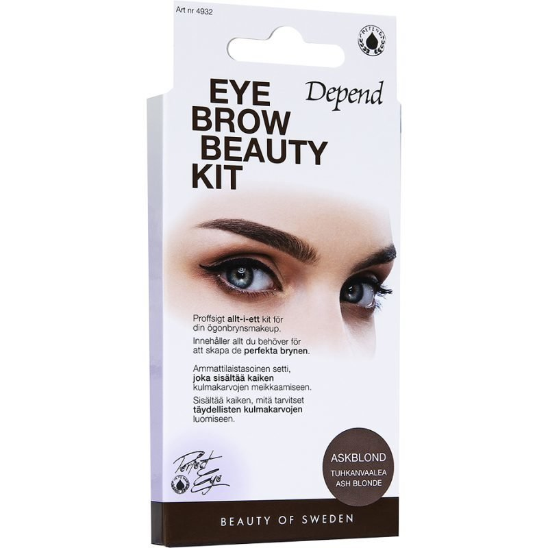 Depend Eyebrow Beauty Kit Ash Blonde