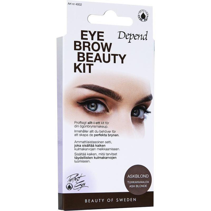 Depend Eyebrow Beauty Kit Ash Blonde