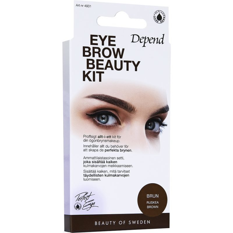 Depend Eyebrow Beauty Kit Brown