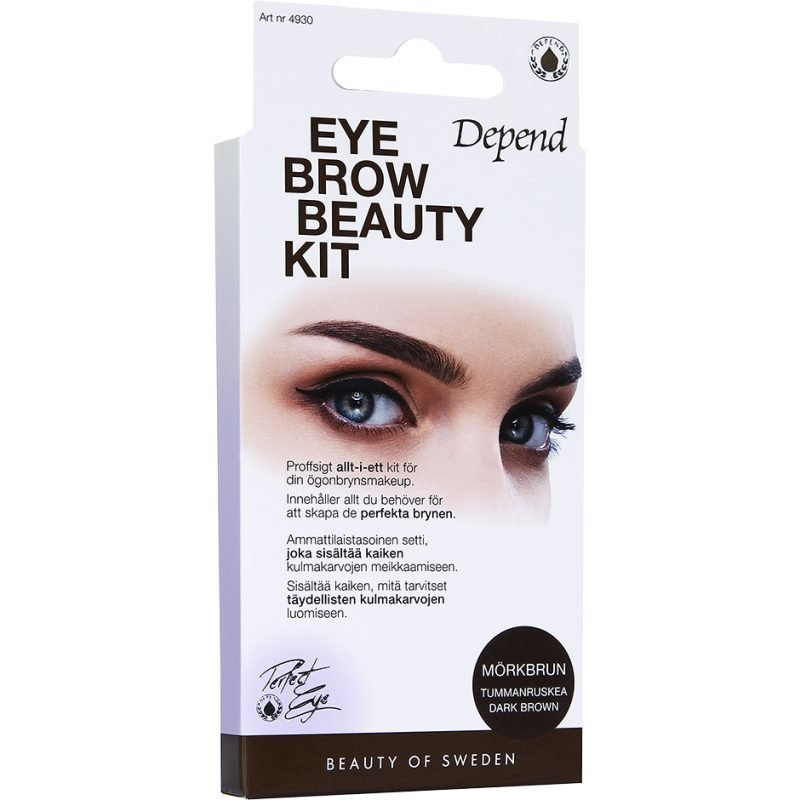 Depend Eyebrow Beauty Kit Dark Brown