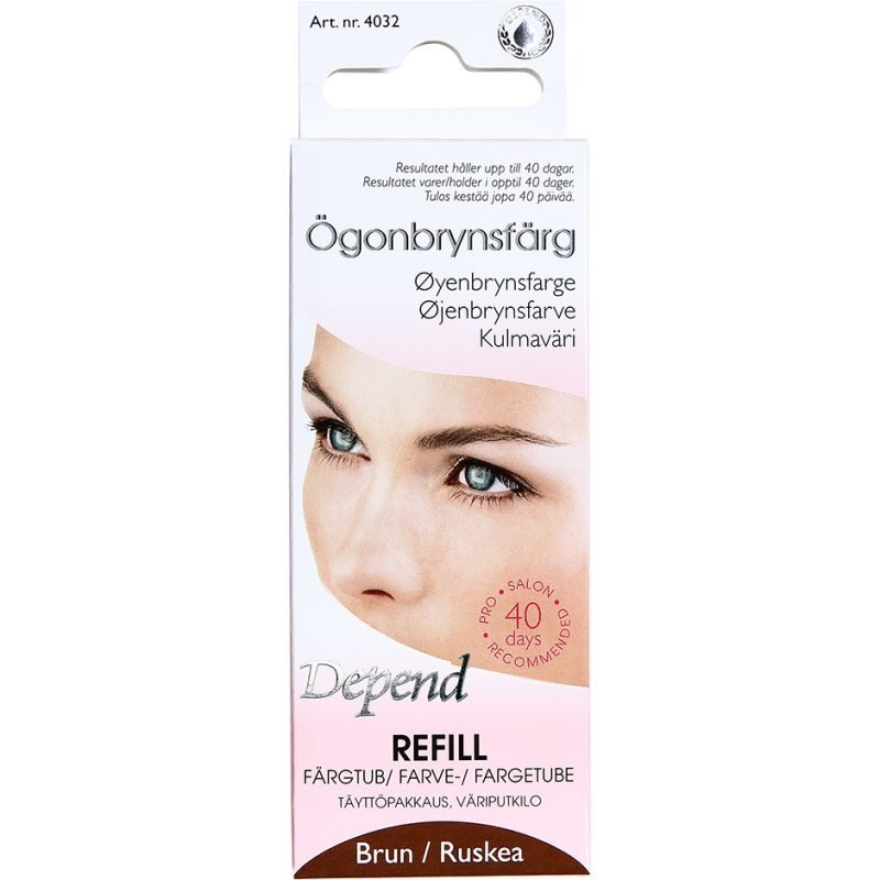 Depend Eyebrow Colour Refill Brown