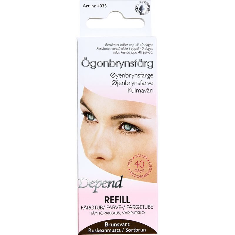 Depend Eyebrow Colour RefillBlack