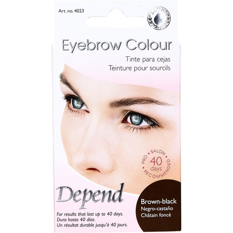 Depend Eyebrow ColourBlack