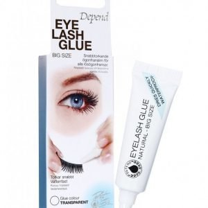 Depend Eyelash Glue Natural Irtoripset