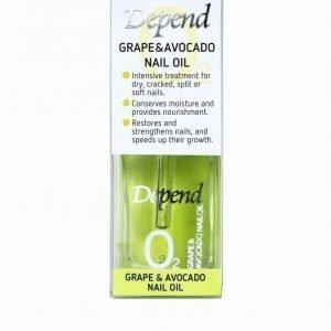 Depend Grape & Avocado Nail Oil 11 Ml Kynsihoito