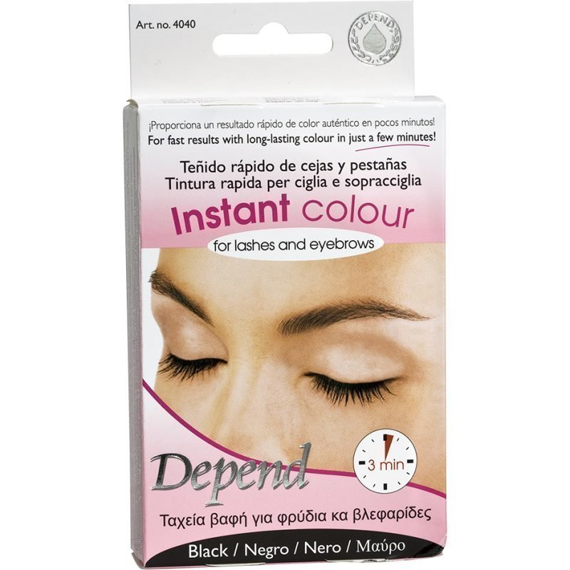 Depend Instant Colour For Lashes And Eyebrows Black