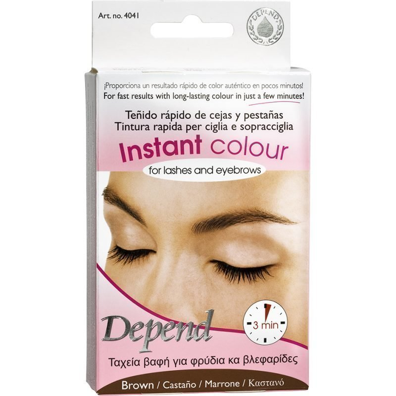 Depend Instant Colour For Lashes And Eyebrows Brown