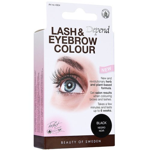 Depend Lash & Eyebrow Color Black