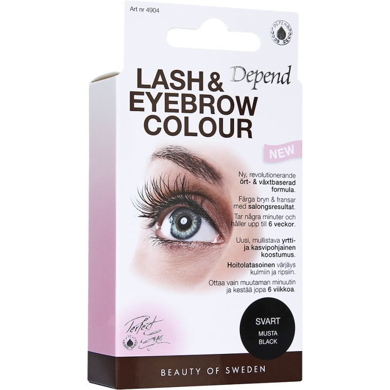 Depend Lash & Eyebrow Colour Black