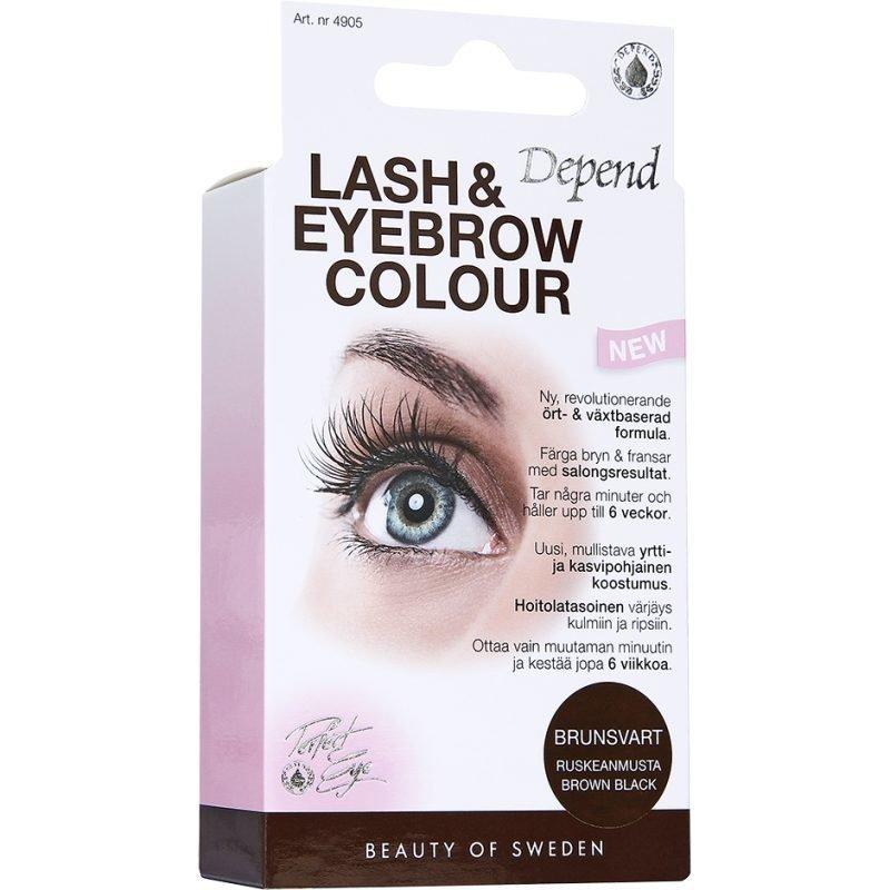 Depend Lash & Eyebrow Colour Brown Black