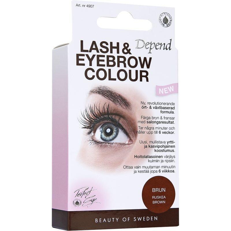 Depend Lash & Eyebrow Colour Brown