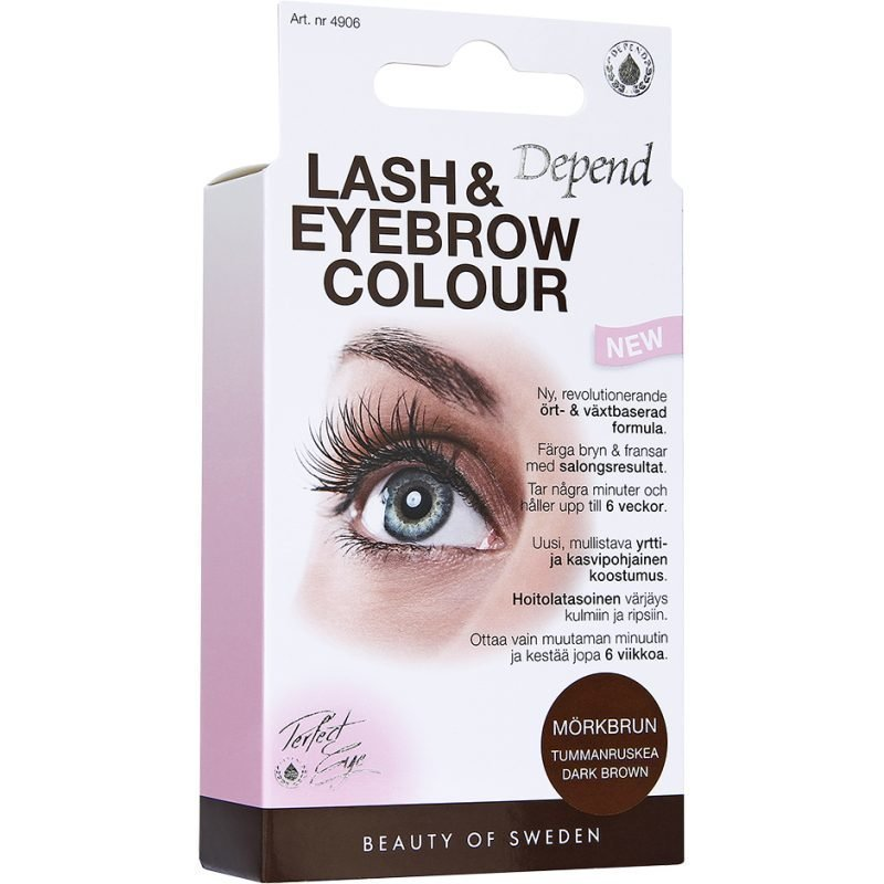 Depend Lash & Eyebrow Colour Dark Brown