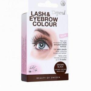 Depend Lash & Eyebrow Colour Kulmaväri Black / Brown
