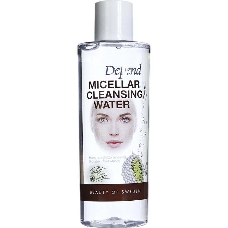 Depend Micellar Cleansing Water Face & Eye
