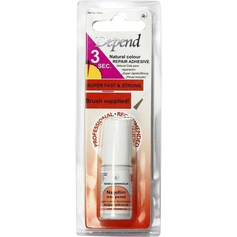Depend Nail Glue With Brush 3g