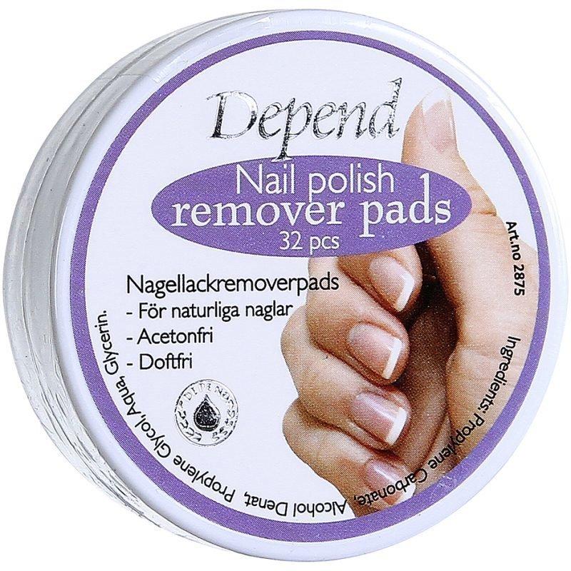 Depend Nail Polish Remover Pads 32 pcs