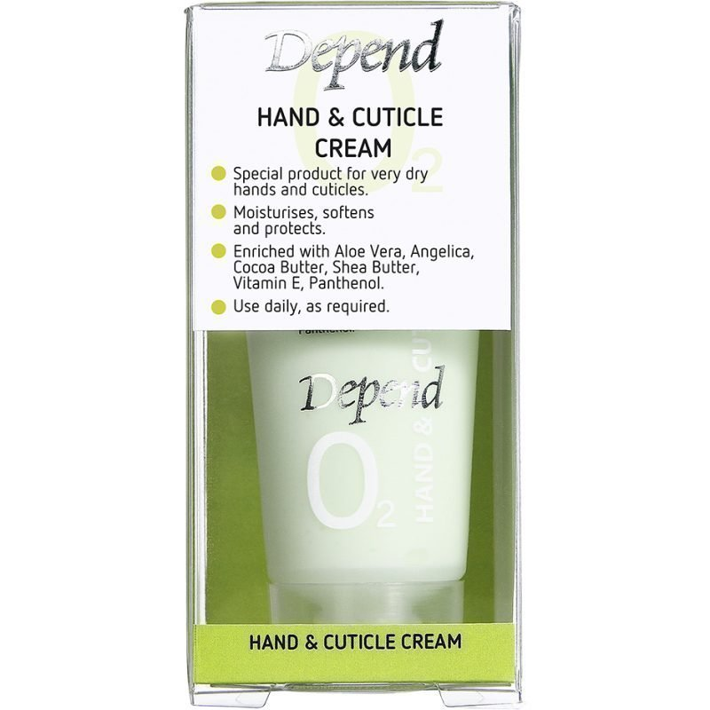 Depend O2 Hand & Cuticle Cream 20ml