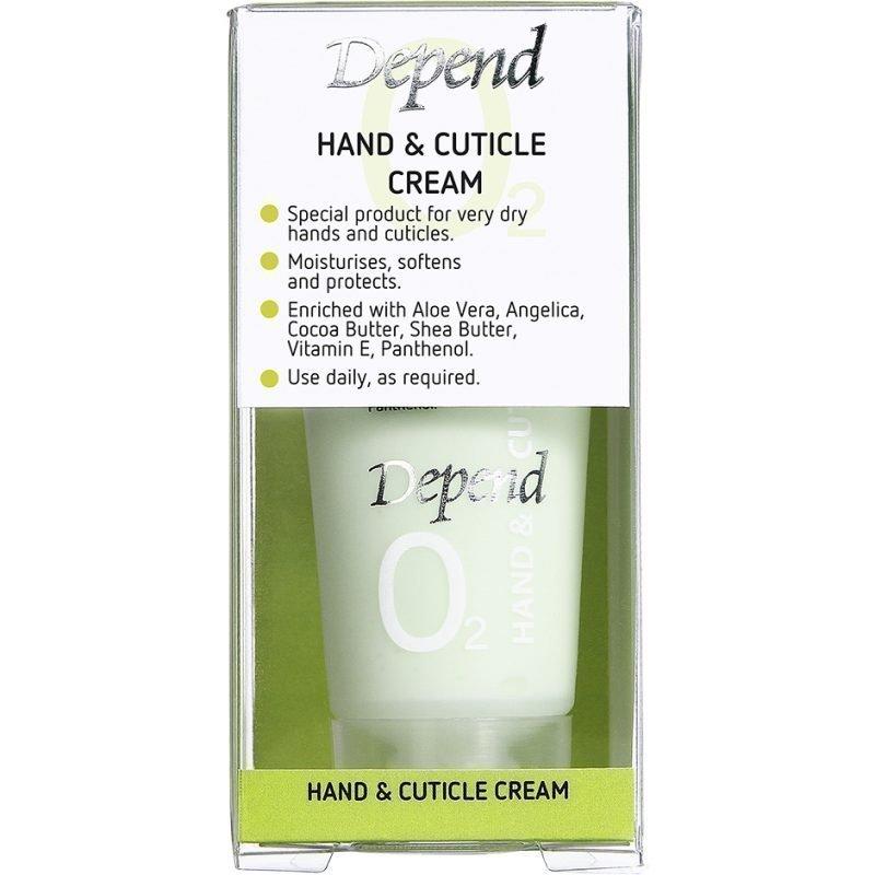 Depend O2 Hand & Cuticle Cream 20ml
