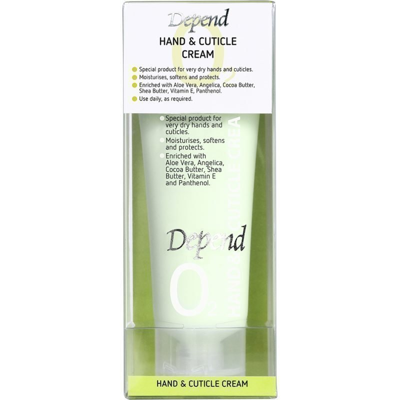 Depend O2 Hand & Cuticle Cream 75ml