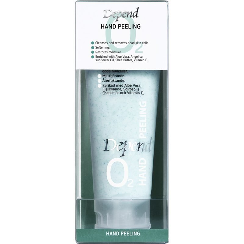 Depend O2 Hand Peeling 75ml