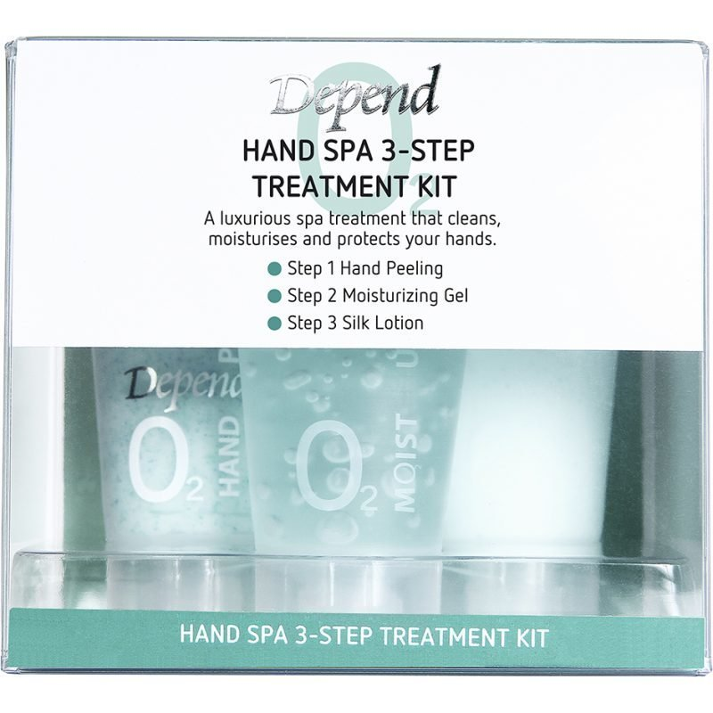 Depend O2 Hand Spa 3-Step Treatment Kit 3x20ml