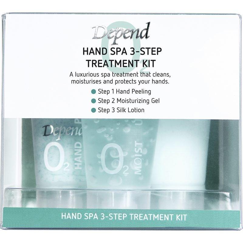 Depend O2 Hand Spa 3-Step Treatment Kit 3x20ml