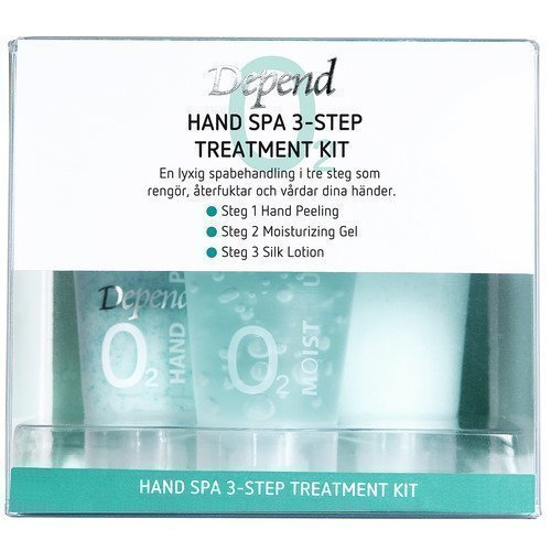Depend O2 Hand Spa 3-Step Treatment Kit