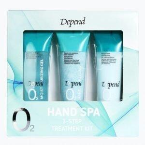 Depend O2 Hand Spa Lahjapakkaus