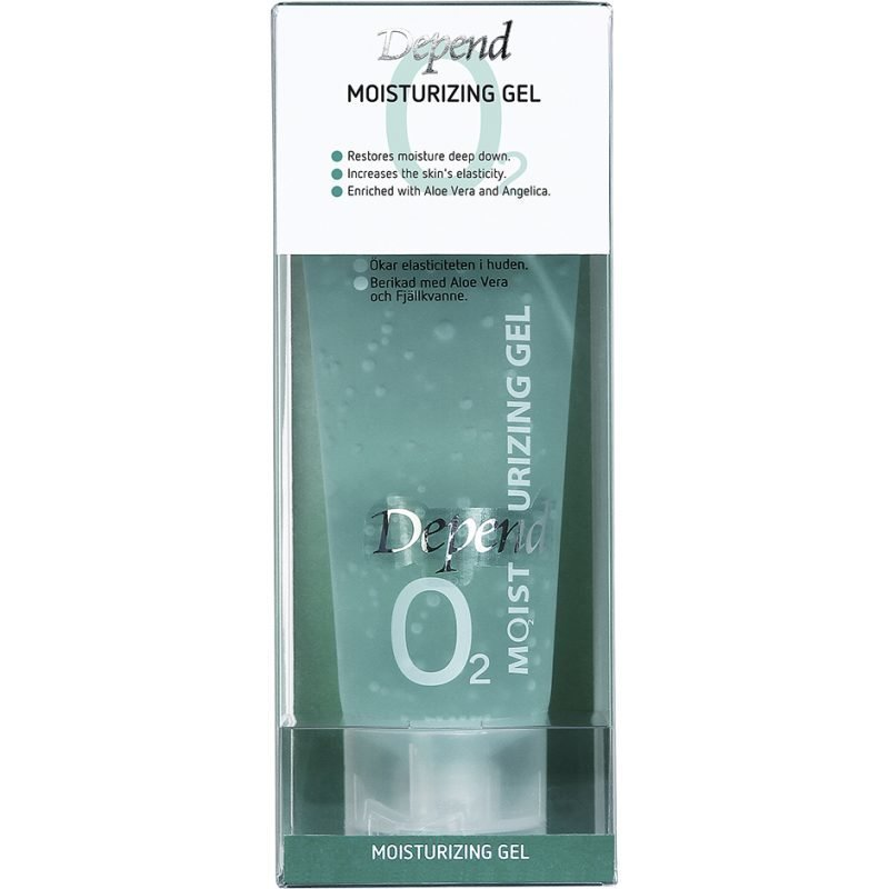 Depend O2 Moisturizing Gel 75ml