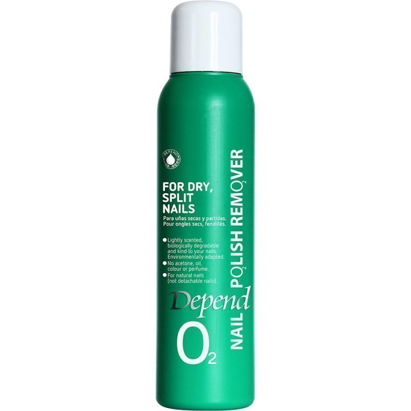 Depend O2 Nail Polish Remover For Dry Split Nails 100ml