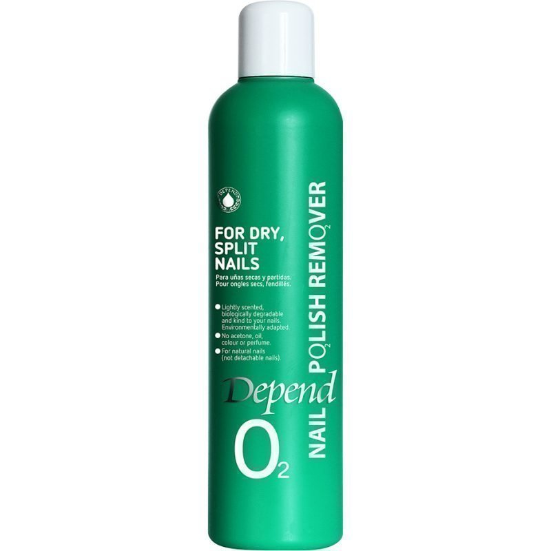 Depend O2 Nail Polish Remover For Dry Split Nails 250ml