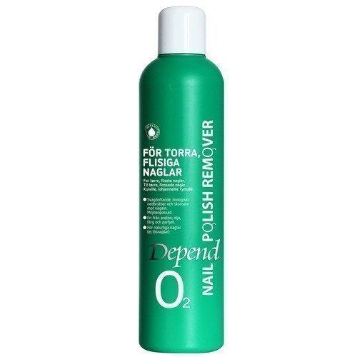 Depend O2 Nail Polish Remover Kuiville lohjenneille kynsille 250 ml