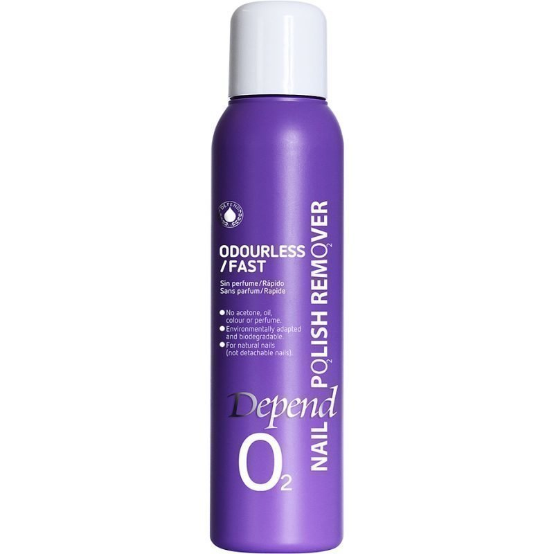 Depend O2 Nail Polish Remover Odourless/Fast 100ml