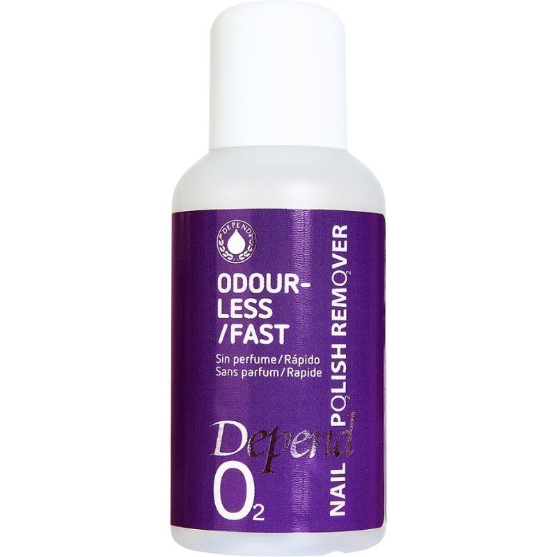 Depend O2 Nail Polish Remover Odourless/Fast 35ml