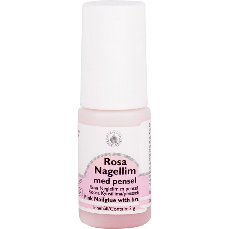 Depend Pink Nail Glue With Brush 3g